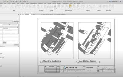 Creating a Shadow Study in Revit