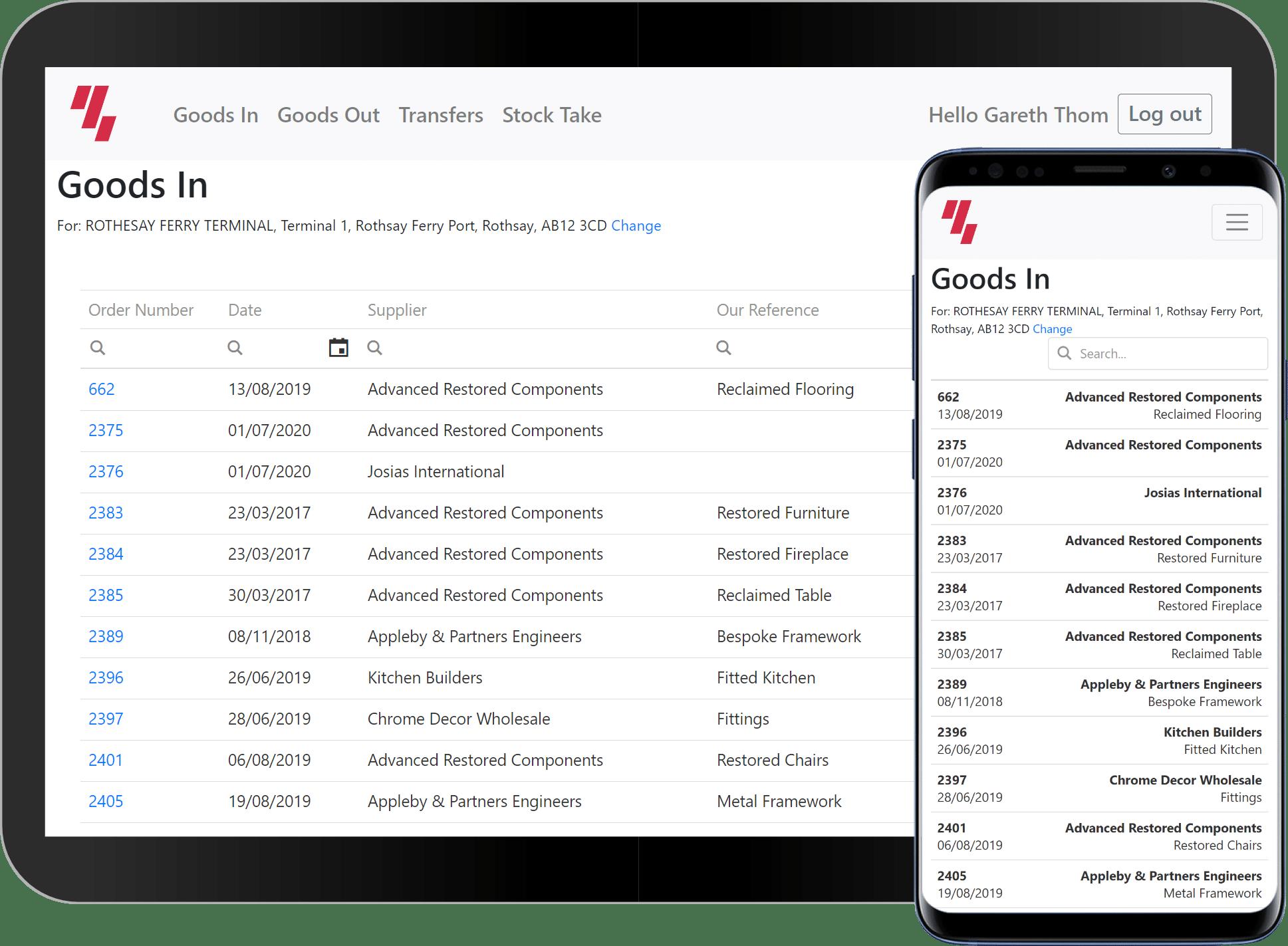 Web Apps screenshot