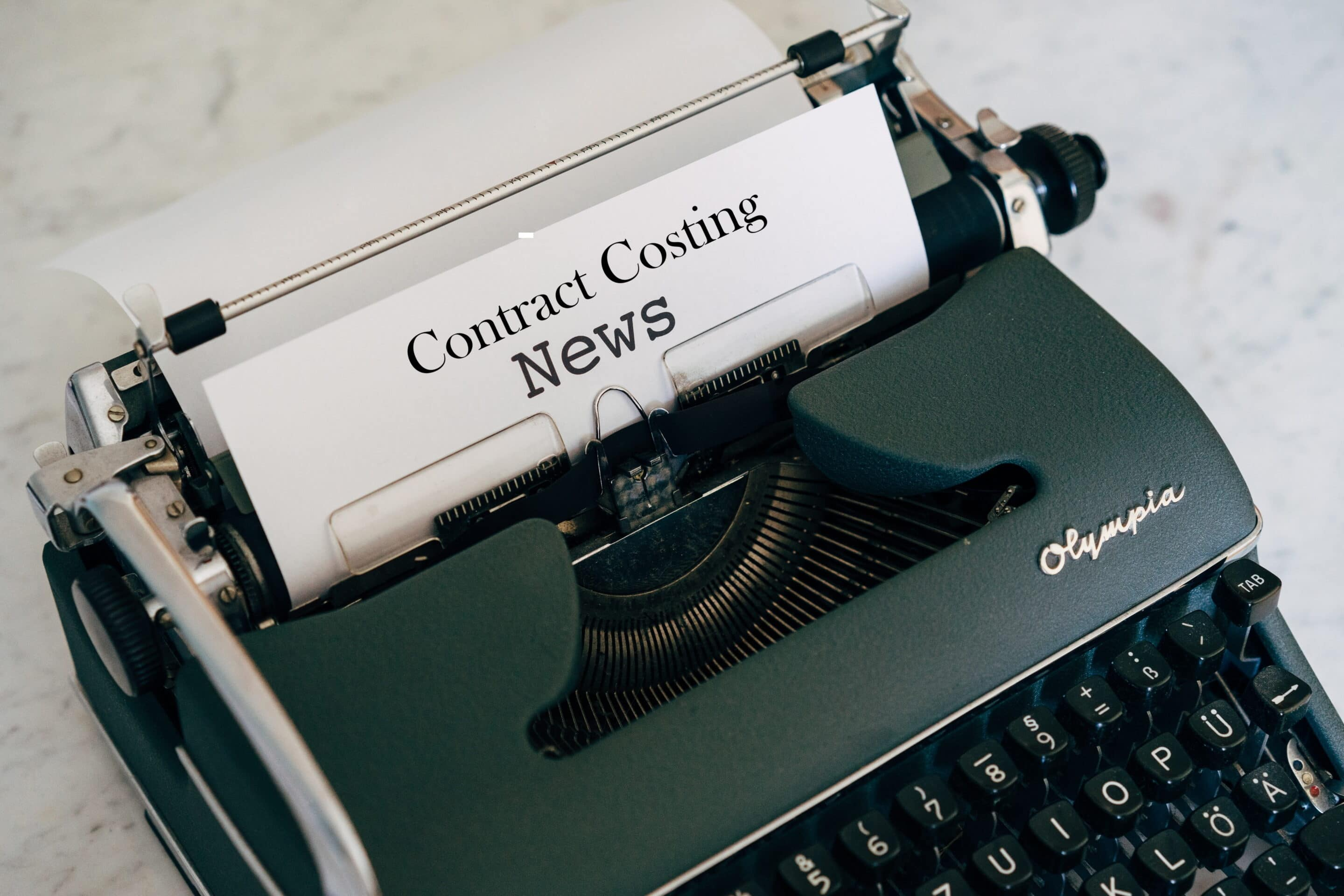 Contract Costing News